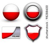 Poland Flag Icons Theme.