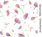 repeatable background of pink... | Shutterstock . vector #98312528