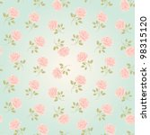 seamless wallpaper pattern with ... | Shutterstock .eps vector #98315120