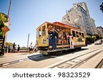 san francisco   july 22 ... | Shutterstock . vector #98323529