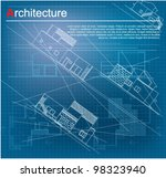 urban blueprint  vector . ... | Shutterstock .eps vector #98323940