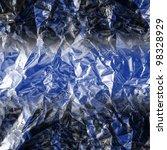 rumpled blue background   Shutterstock . vector #98328929