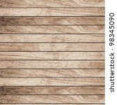 vector wood plank background | Shutterstock .eps vector #98345090