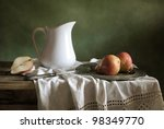 Still Life With Drapery And Re...