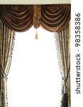 Luxury Curtain In The Window I...