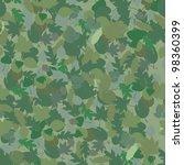 seamless green floral pattern... | Shutterstock .eps vector #98360399