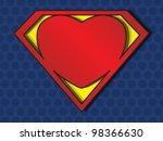 A Big Red Heart Shaped Like A...