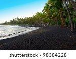 Punaluu Black Sand Beach  Maui...