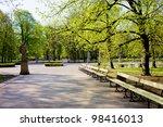 the saxon garden  polish  ogrod ... | Shutterstock . vector #98416013