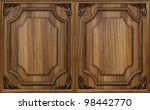 Wooden Decorative Panel With...