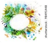 Floral Spring And Summer Desig...