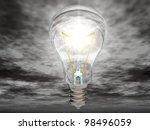 the light bulb | Shutterstock . vector #98496059