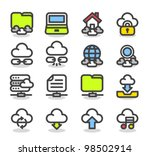 simple series   web internet ... | Shutterstock .eps vector #98502914