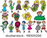 iridescent thick line   Shutterstock . vector #98505200