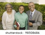 christian grandparents and...   Shutterstock . vector #98508686