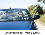 front view of a young man... | Shutterstock . vector #98511290