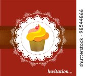 invitation | Shutterstock .eps vector #98544866