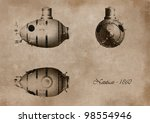 Project On Ancient Submarine...