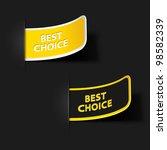 sticker. vector illustration.... | Shutterstock .eps vector #98582339