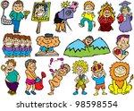 iridescent thick line   Shutterstock . vector #98598554