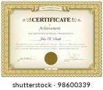 vector illustration of gold... | Shutterstock .eps vector #98600339