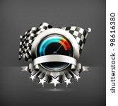 racing emblem  10eps | Shutterstock .eps vector #98616380