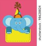 cute baby shower. vector... | Shutterstock .eps vector #98628824