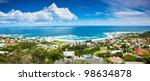 cape town city panoramic image  ... | Shutterstock . vector #98634878