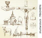 Christianity Hand Drawn...