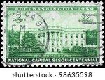usa   circa 1950  a stamp... | Shutterstock . vector #98635598