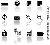 web icons for website template  ...