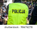 polish police in action | Shutterstock . vector #98676278