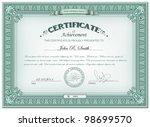 vector illustration of detailed ... | Shutterstock .eps vector #98699570