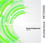abstract technology background... | Shutterstock .eps vector #98735000
