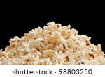 Heap Of Popcorn Isolated On...