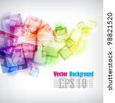vector background | Shutterstock .eps vector #98821520