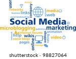 social media   marketing | Shutterstock .eps vector #98827064