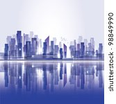 city landscape. raster version | Shutterstock . vector #98849990