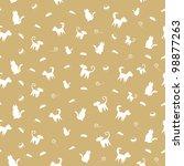 pets seamless pattern | Shutterstock . vector #98877263