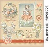 Vintage Easter Design Set....