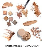 collection of  various make up... | Shutterstock . vector #98929964