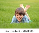 boy laughing | Shutterstock . vector #9893884