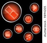 orange vector iconset 08
