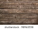 old wooden background. wooden... | Shutterstock . vector #98963558