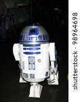 Постер, плакат: R2 D2 Star Wars exhibition