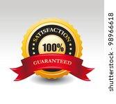 vector 100  satisfaction... | Shutterstock .eps vector #98966618