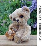 Teddy Bear Lucky With A Rag...