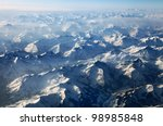 Austrian Alps Seen From The...