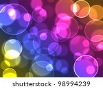Abstract Colourful Bubbles....