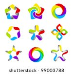 business abstract logo template ...